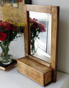 Vintage Valet Mirror